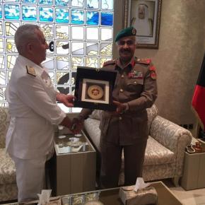 Ο Αρχηγός ΓΕΕΘΑ Ναύαρχος Αποστολάκης στο Κουβέϊτ – Τι συζητήθηκε-Φωτογραφίες.