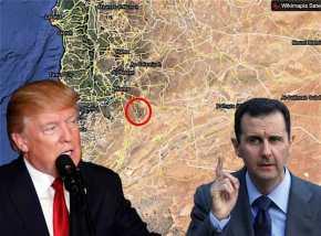 """Ο Άσαντ κατηγορεί τις ΗΠΑ ότι """"χτύπησαν"""" αποθήκες με χημικά και σκότωσανεκατοντάδες"""