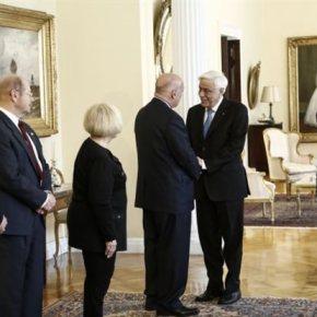Παυλόπουλος: «Ουδείς μπορεί να αμφισβητεί τη Συνθήκη της Λωζάνης»Δηλώσεις του Προέδρου της Δημοκρατίας σε συνάντηση με αντιπροσωπεία τηςAHEPA