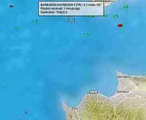 Το Barbaros βορειοδυτικά της Κύπρου λίγες ώρες μετά το ανεπαρκές 51% στοδημοψήφισμα!