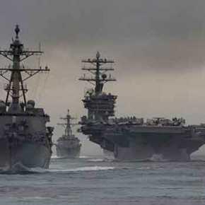 O Στόλος των ΗΠΑ στη Χερσόνησο …Με Πυρηνικό Ολοκαύτωμα απειλείΒ.Κορέα!