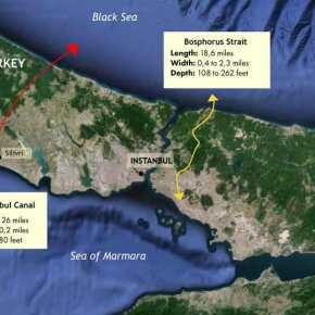 Ο Ερντογάν ξεκινά το «κανάλι της Κωνσταντινούπολης» που θα αποτελέσει την αιτία για επίθεση τηςΜόσχας