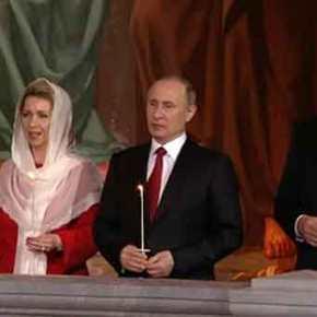 Θλιβερή η αντίθεση με τους δικούς μας άθεους εδώ – Ο Β.Πούτιν εύχεται «Αληθώς Ανέστη»(βίντεο)