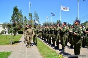 Επίσκεψη Αρχηγού Εθνικής Φρουράς στην ΕΛΔΥΚ-Φωτογραφίες.