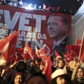 """Τουρκία – Δημοψήφισμα:""""Ναι"""" στον Ερντογάν με μεγάλες απώλειες – Αμφισβητεί το αποτέλεσμα η αντιπολίτευσηΤουρκία – Δημοψήφισμα: Νίκησε ο… διχασμός! """"Ναι"""" στον Ερντογάν, αλλά με μεγάλες απώλειες – Αμφισβητεί το αποτέλεσμα ηαντιπολίτευση"""