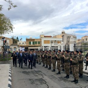 Καμμένος: »H Ελλάδα, θα είναι πάντα δίπλα στην Εθνική Φρουρά με τις δυνάμεις τηςΕΛΔΥΚ»