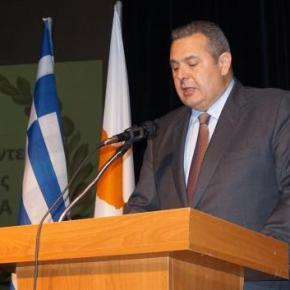 Καμμένος: Η επανένωση της Κύπρου είναι για τον Ελληνισμό, εθνικήεπιταγή