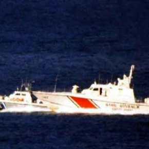 Oι Τούρκοι ισχυρίζονται ότι σκάφος της τουρκικής Ακτοφυλακής «καταδίωξε» σκάφος του Λιμενικού στα Ίμια!(βίντεο)