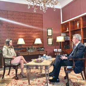 """""""Είμαστε ευγνώμονες για τη Σούδα"""" δηλώνει ο Αμερικανός πρέσβης ΤζέφριΠαιατ"""