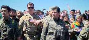 Αμερικανοί στρατιωτικοί έσπευσαν στις κουρδικές περιοχές που βομβάρδισε η Τουρκία!ΒΙΝΤΕΟ