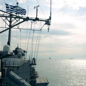 Συνεκπαίδευση του Πολεμικού Ναυτικού με την SNMG2 –ΦΩΤΟ
