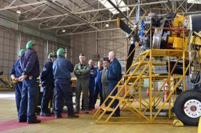 Επίσκεψη Αρχηγού ΓΕΑ στην αεροπορική βάσηΔεκελείας