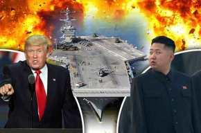 Τεράστια πυρηνικά στρατηγικά στοιχεία μεταφέρουν οι Η.Π.Α στη κορεατικήχερσόνησο!