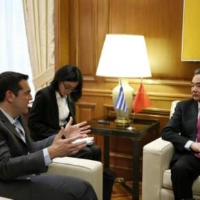 Προοπτική ευρύτερης συνεργασίας για Ελλάδα καιΚίνα