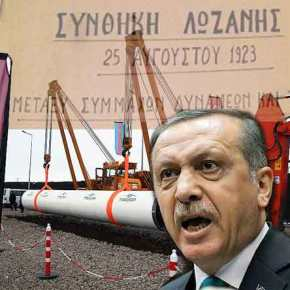 Τουρκία: «Η Ελλάδα παραβίασε τη Συνθήκη της Λωζάνης και μας απομονώνει ενεργειακά -Ετοιμάζει ολοκληρωτικόχτύπημα»