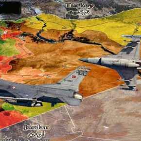 Δεκάδες μαχητικά της τουρκικής Αεροπορίας βομβάρδισαν σε Συρία καιΙράκ
