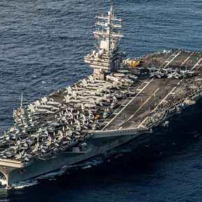 Τρία αεροπλανοφόρα με τεράστια δύναμη πυρός στέλνουν οι ΗΠΑ στη κορεατική χερσόνησο -Στέλνει δυνάμεις και η Ιαπωνία – Θα ισοπεδώσουν τηΒ.Κορέα