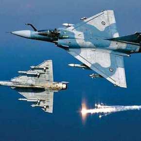 Ελληνικό MIRAGE-2000 επιστρέφει με έναν πύραυλο λιγότερο… Πως έριξε το τουρκικό F-16 ο Έλληνας πιλότος (Εικόνες καιβίντεο)