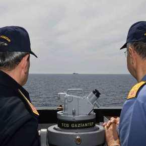 Επιχείρηση «Ασπίδα της Μεσογείου» ονομάζει η Τουρκία την αμφισβήτηση της κυπριακής ΑΟΖ και στέλνει φρεγάτες και υποβρύχια για να «προασπίσει τα συμφέροντατης»