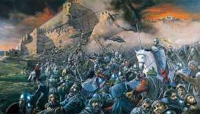 1000 λεοντόκαρδοι Κρήτες με αρχηγό τους στον Σφακιανό Καλλικράτη ήταν οι τελευταίοι υπερασπιστές τηςΠόλης