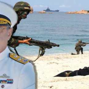 Ο Τούρκος Ναύαρχος έδωσε διαταγή να μεταπέσει ο Στόλος σε συμβατικό περιβάλλον πολέμου λόγωκρίσης!