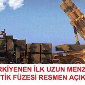 ΤΑ ΑΜΥΝΤΙΚΑ ΠΡΟΓΡΑΜΜΑΤΑ ΤΗΣ ΑΓΚΥΡΑΣ ΠΛΕΟΝ ΩΡΙΜΑΖΟΥΝ  Το νέου τουρκικό βλήμα Kaan μπορεί να πλήξει στόχους σε Κρήτη και Θεσσαλονίκη και σύντομα σε όλη την Ελλάδα! (φωτό,βίντεο)