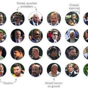 """""""Στο πιάτο"""" των αμερικανών οι μπράβοι Ερντογάν! Δείτε πως τους έχουν""""φακελώσει"""""""