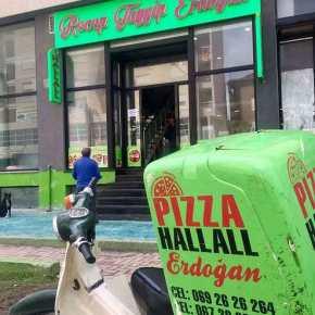 Ο Ερντογάν έγινε…πίτσα στην Αλβανία! Αυτό θα πειλατρεία