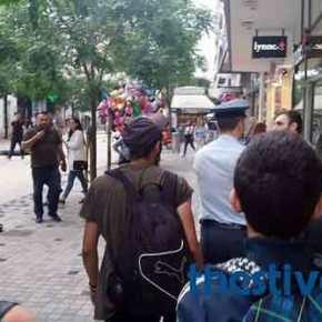 Επέμβαση της Αστυνομίας στην πορεία του Gay Pride στη Θεσσαλονίκη: Το πλήθος πήγε να τον λιντσάρει γιατί δεν υπάκουσε στην πολιτική ορθότητα που επιτάσσει η ΝΤΠ(βίντεο)