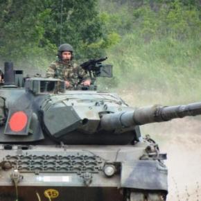 Ο Διοικητής 1ης Στρατιάς με τους ετοιμοπόλεμους του Δ' ΣΣ –ΦΩΤΟ
