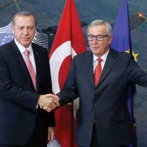 """Οι Βρυξέλλες δεν """"ακούν"""" τους κινητήρες των τουρκικών F-16 πάνω από τα ελληνικάνησιά;"""