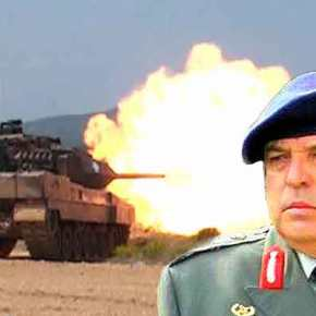 Στρατηγός Φράγκος :Εγώ με τα Πυροβόλα μου και τα …Άρματα να μας φυλάνε ,θα τους κάνω τη ζημιά!(Video)