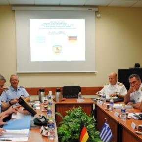 ΓΕΕΘΑ: Ελληνο-γερμανική στρατιωτική συνεργασία στην ανταλλαγή πληροφοριών –ΦΩΤΟ