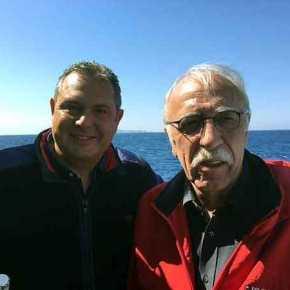 """Καμμένος και Βίτσας υπό """"ασύμμετρες απειλές"""" στο Αιγαίο! Φωτογραφίες και βίντεο – Σε ποιο πολεμικό πλοίο επιβαίνουν ΥΕΘΑ,ΑΝΥΕΘΑ και Αρχηγοί καιγιατί"""