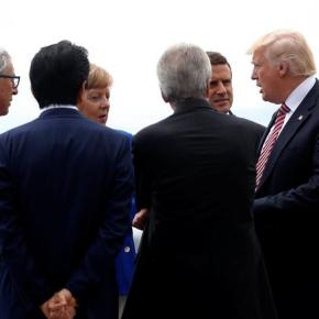Άνω-κάτω έκανε τη Σύνοδο των G7 στην Ιταλία o ΝτόναλντΤραμπ