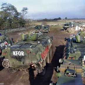 Δυνάμεις της KFOR εγκαταλείπουν το Κοσσυφοπέδιο και κατευθύνονται προς Θεσ/κη καιΠΓΔΜ