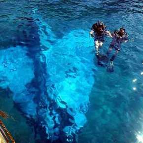 """Οι """"υποβρύχιοι κομάντος"""" της ΠΑ έτοιμοι να ανελκύσουν το Mirage2000"""