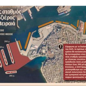 Τα έργα που θα κάνουν τον Πειραιά κορυφαίο λιμάνι γιακρουαζιερόπλοια
