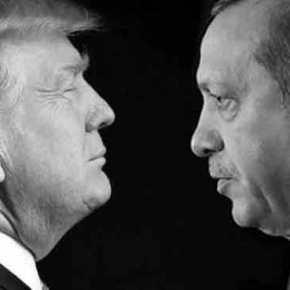 Ρ.Τ.Ερντογάν προς Ν.Τραμπ: «Θέλω την Β.Συρία, το Β.Ιράκ και το… μισόΑιγαίο»