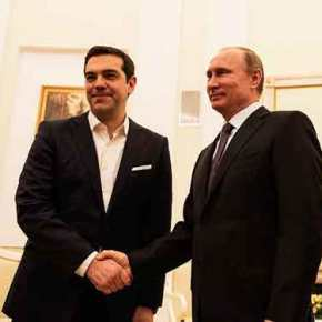 H αναβάθμιση των διμερών σχέσεων στην ατζέντα της συνάντησης Τσίπρα –Πούτιν