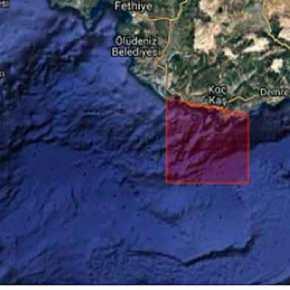 """""""Αποκλείει"""" το Καστελόριζο τα ξημερώματα η Τουρκία! Navtexπρόκληση"""