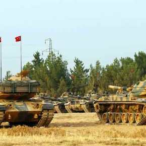 Eτοιμη η νέα δύναμη εισβολής του Ρ.Τ.Ερντογάν: 7.000 Τούρκοι στρατιώτες μαζί με FSA και τον ιδιωτικό στρατό SADAT μπαίνουν στην Συρία από τρίασημεία