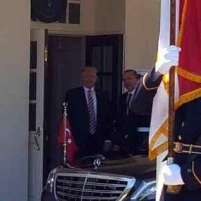Συνάντηση Τραμπ με Ερντογάν και ένταση έξω από το ΛευκόΟίκο!