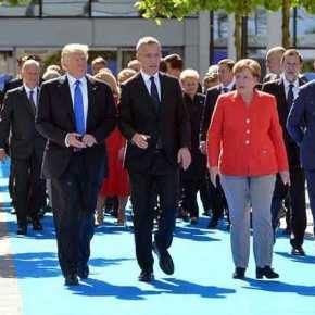 """""""Οι Γερμανοί είναι κακοί, πολύ κακοί"""" είπε ο Τραμπ στις Βρυξέλλες κι άναψεφωτιές!"""