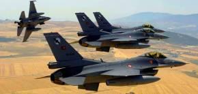 Εμπλοκές ελληνικών F-16 με πάνοπλα τουρκικά μαχητικά στοΑιγαίο