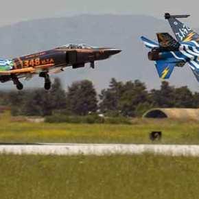 Παρουσία του «ΖΕΥΣ» ο Αποχαιρετισμός στα RF -4E…Το «Μήνυμα» που στέλνουν οι Χειριστές μας!(video)