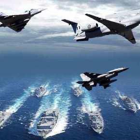 Με διασπορά Μαχητικών και «Άπλωμα του Στόλου» …Απαντούν οι Ελληνικές ΈνοπλεςΔυνάμεις!