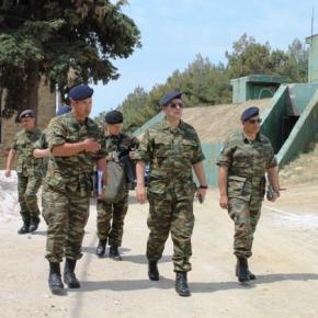 Ο Γενικός Επιθεωρητής Στρατού με τους φρουρούς του Αιγαίου –ΦΩΤΟ