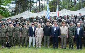 O ΥΕΘΑ Π.Καμμένος στην κοινή άσκηση των Ειδικών Δυνάμεων Ελλάδας-Βουλγαρίας