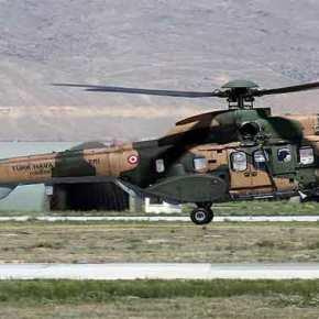 Συντριβή τουρκικού AS-532 Cougar στην Ν.Α.Τουρκία: 13 νεκροί – Μεταξύ τους στρατηγός της «κλειστής» ομάδας Ερντογάν(βίντεο)